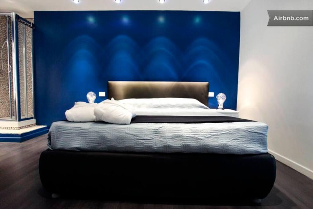 SuiteDesign Vaticano Roma room blue