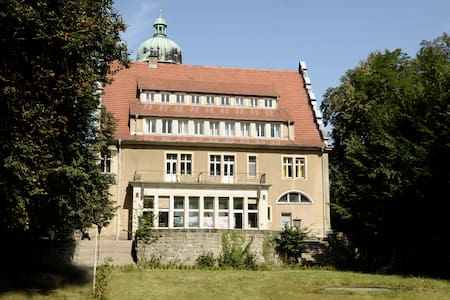 Doppelzimmer mit Blick ins Grüne - Schloss