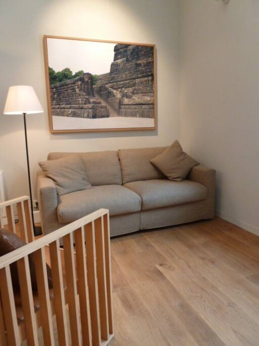 Great loft-apartment in gardenhouse