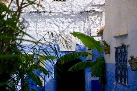 "USHA GUEST HOUSE Room ""NEELA"" - Chefchaouen - Bed & Breakfast"