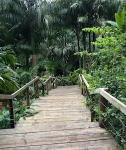Awesome Botanic Garden Villa on Savusavu Bay - Savusavu - Casa