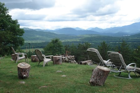 Adirondack Star Ridge Cottage - Rumah