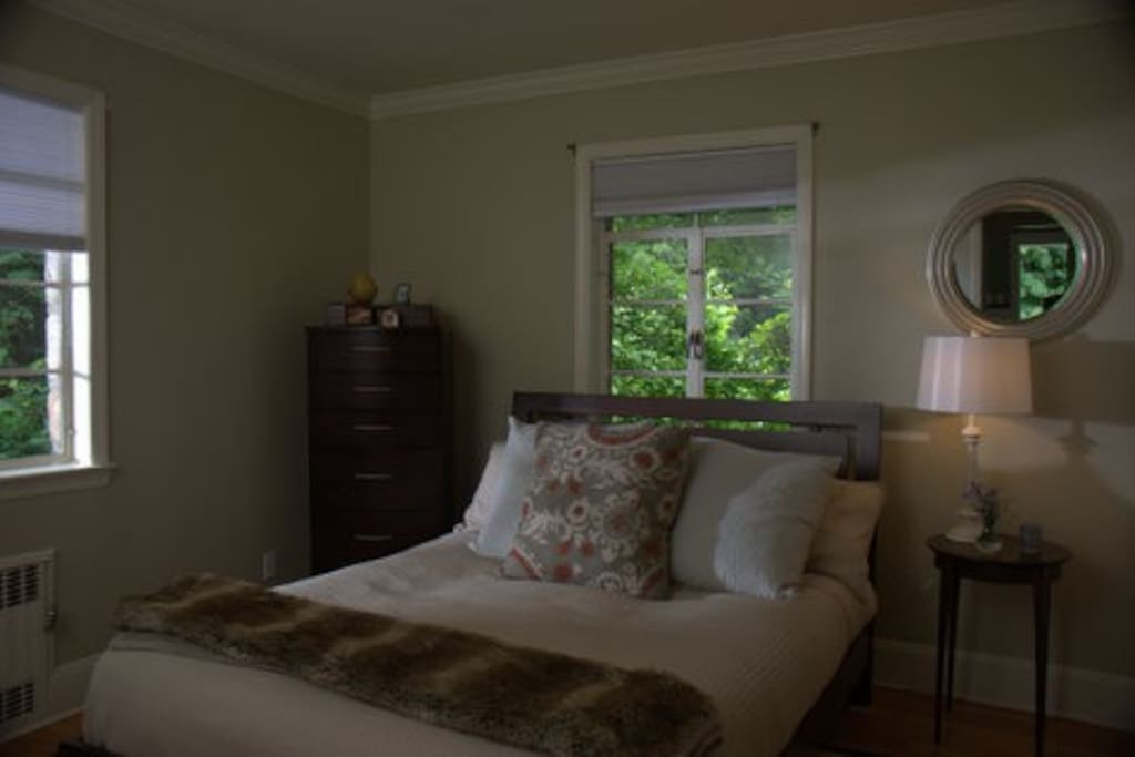 Guest Bedroom on the First Floor, quiet and serene