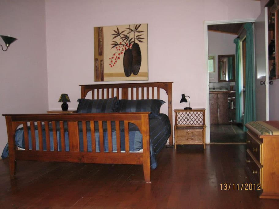 Room 3- a large double/family room with ensuite bath and balcony.