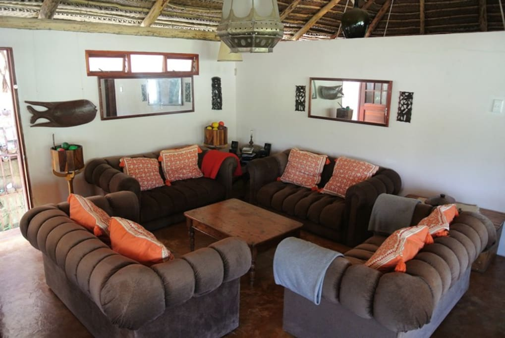Deck with braai facilities