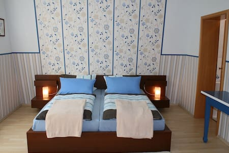 cozy double room / shower/toilet N2 - Bed & Breakfast