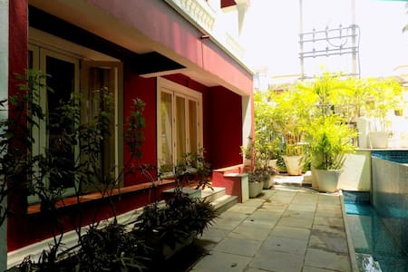 2BHK in the heart of Candolim:CM060 - Lägenhet