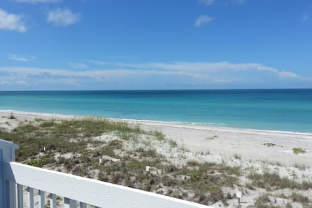 Gulf Front Pet Friendly Beach Home! Island Living! - Townhouse