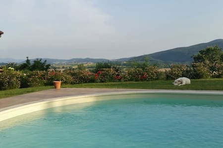Luxurious panoramic villa with pool - Castel dell'Aquila