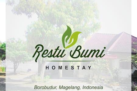 Restu Bumi Rumah Liburan Keluarga di Borobudur - Hus