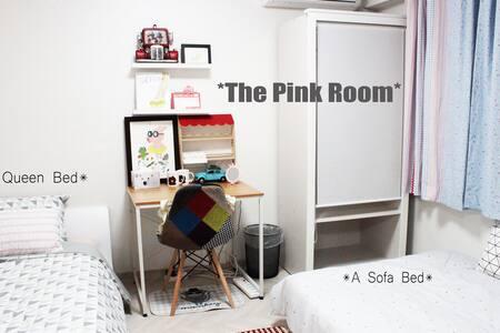 SINNA Gallery Studio-The Pink Room(3P) - Apartment