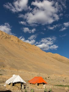 Hostel in Kaza, Spiti Valley - Alpine Tents - Zelt