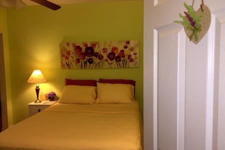 Cozy Bedroom with Comfortable Queen Bed - Talo