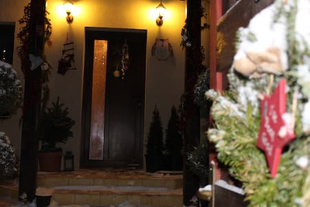 private room, close to airport, forest, SPA@Therme - Săftica - House