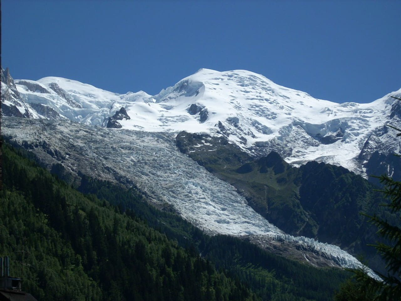 Mt Blanc view
