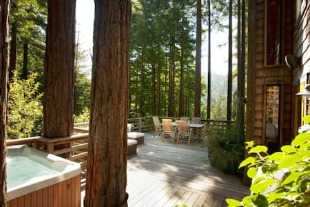 Sonoma Russian River Redwood Escape - Monte Rio - House