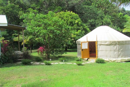 'Sun' Yurt at Mermaid's Secret - Jurta