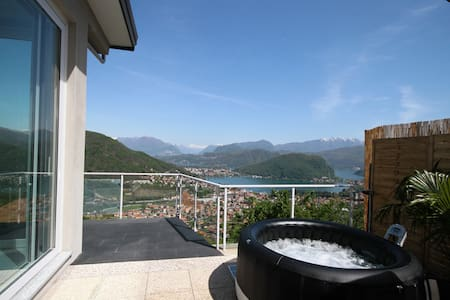 Lake Lugano - Loft Mirage - Loft