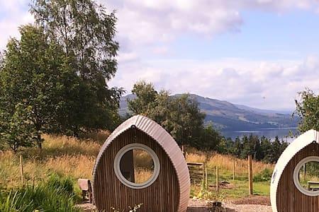 Loch Tay hidden garden with views - Zomerhuis/Cottage