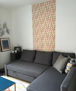 Lovely flat near Buttes Chaumont and Sacré Cœur - Apartment