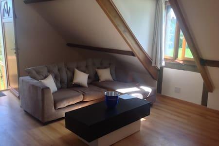 Suite (60m2) avec salon et sdb à 8km de deauville - Inap sarapan