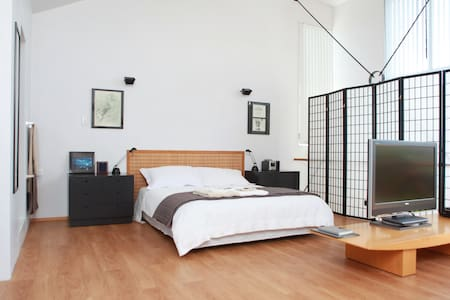Modern Loft Style Studio Apartment  - Auckland - Bed & Breakfast