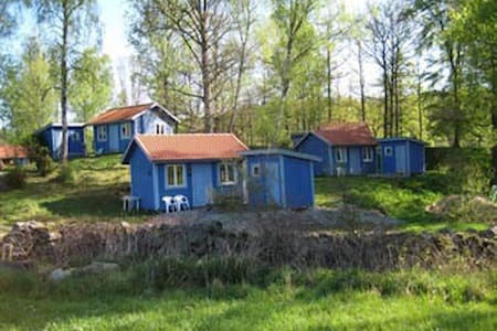 Cosy blue cottage - Hallandsboda - Cottage