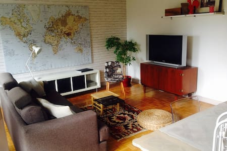 family apartment 20mn from Paris - Montgeron - Appartement