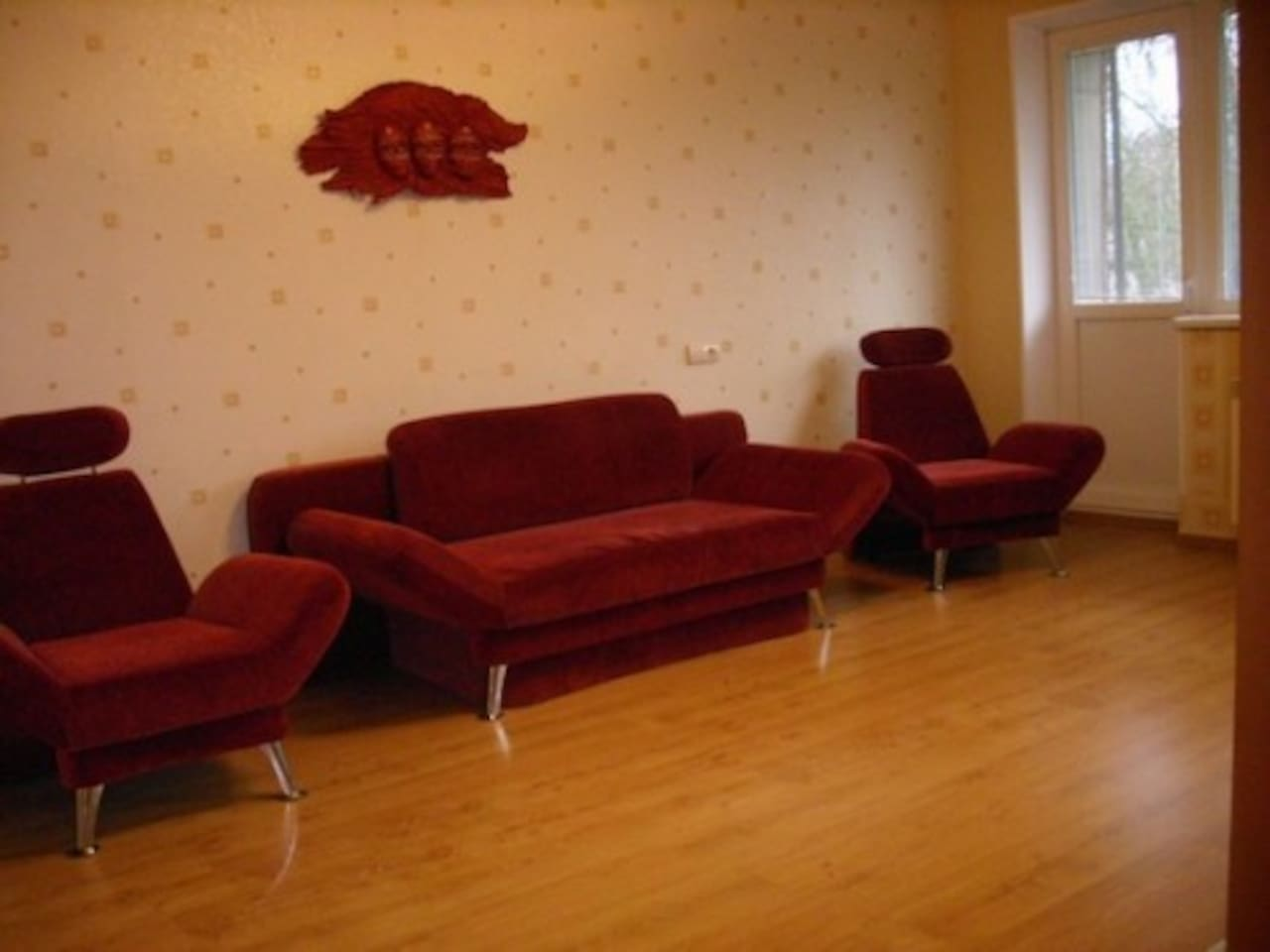 2 room apartment in Klaipeda centre
