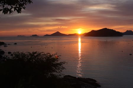 Look at the most beautiful sunset  - Casa