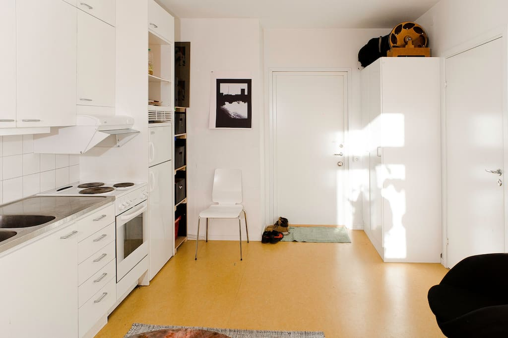 Studio Apartment. Stockholm.