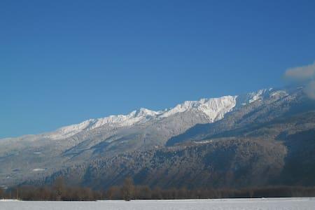 Camera vicino a località alpine - Gresy sur Isere - Hus