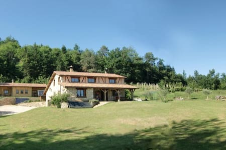 Eco Guest house - front of Pyrenees - Huis