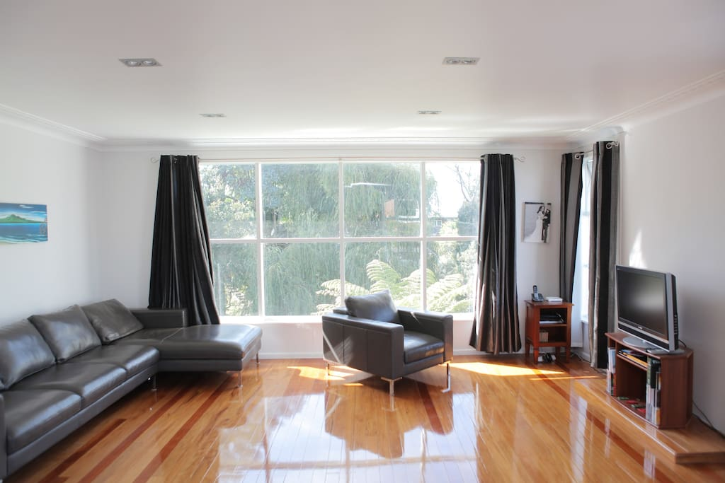Living Rooms - with views to garden