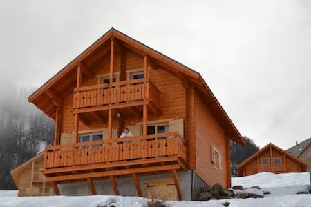 New chalet wooden ski resort - Almhütte