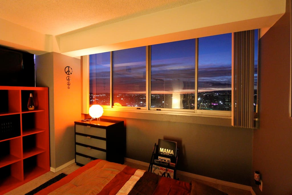Your Private Bedroom Window View