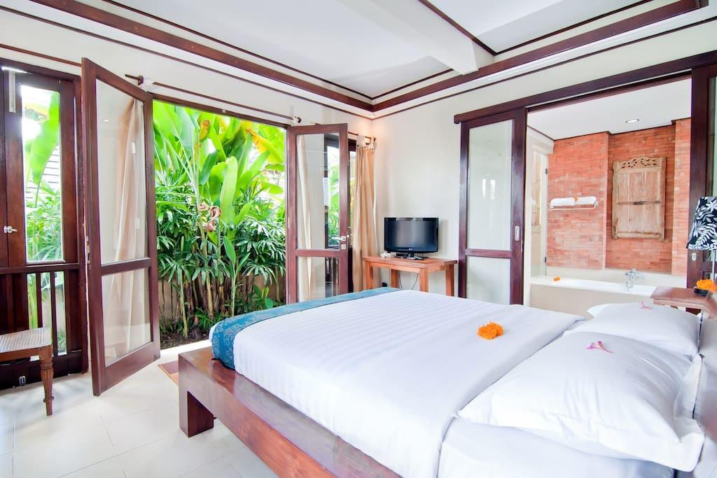 Fresh Ubud Villa in Paddi Village