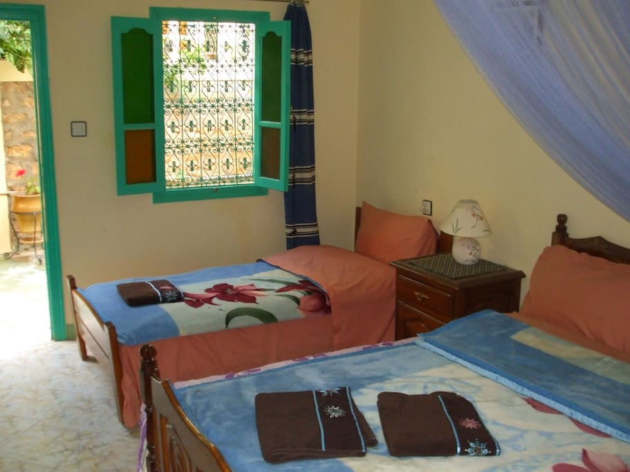 lovely guest house in todra gorge