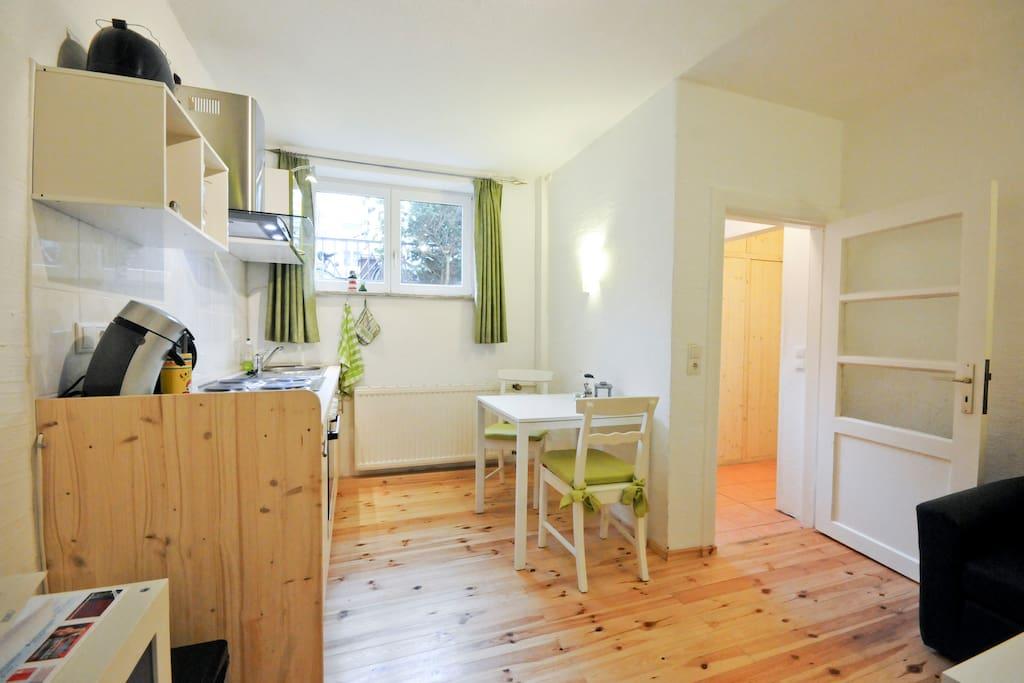 Liebevoll ausgestattete Wohnung