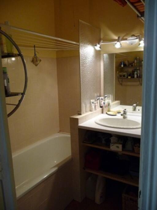 Salle de bain / Baignoire