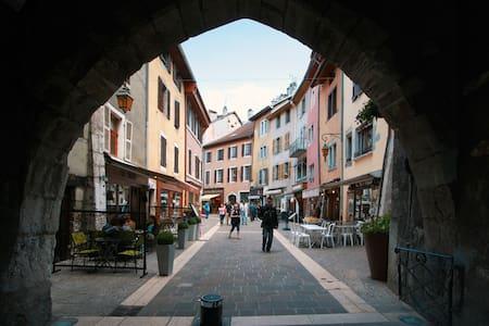 Appartement au calme a deux pas du centre ville - Leilighet