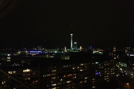 Above the roofs of central Berlin