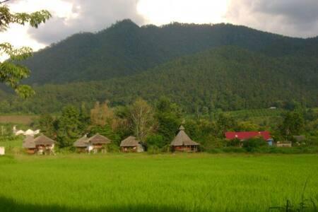 Amazing Views Thai Style Bungalow 1 - Hut