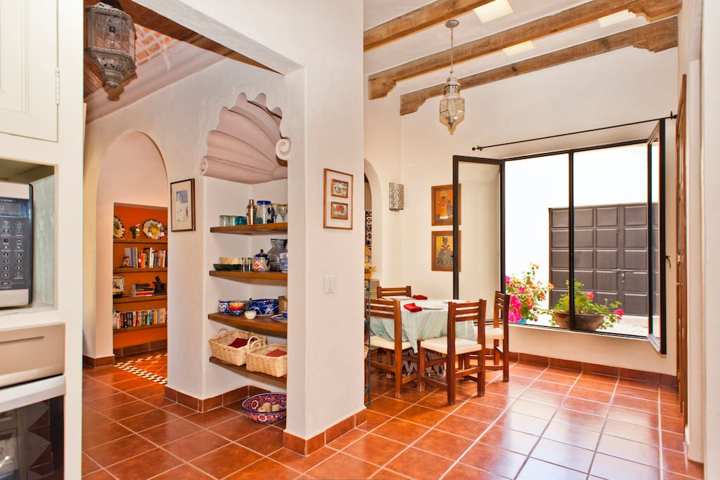 Eat in Kitchen with views to hallway