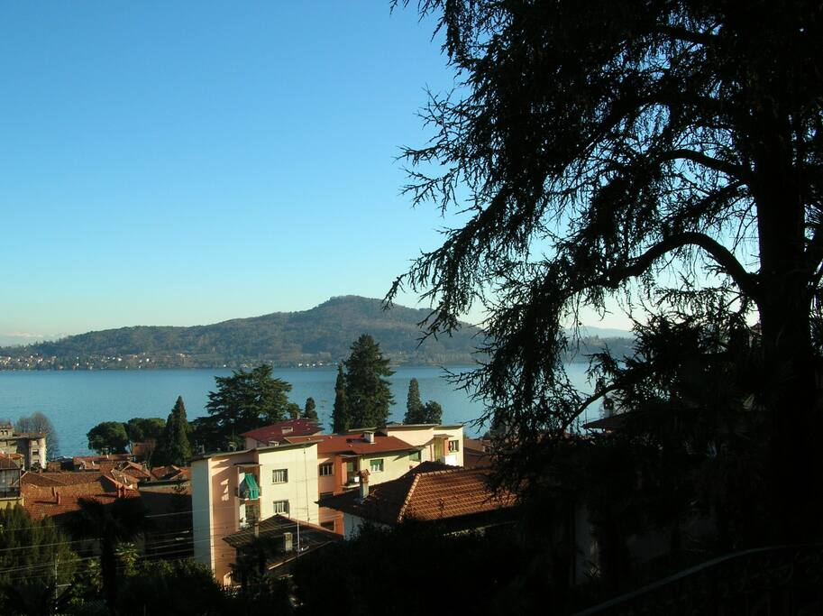 View from the apartment in the Villa
