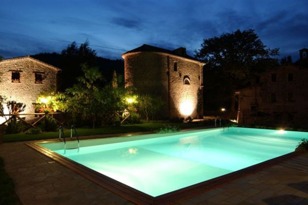 Villa in Umbria with pool & garden