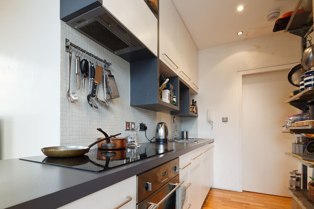 Kitchen is equipped to catering standard