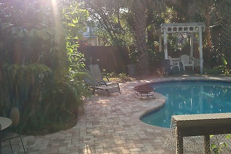 **Great Location**Great Space**Great Pool**The only Neighborhood of South Tampa**One of a kind Bungalow**