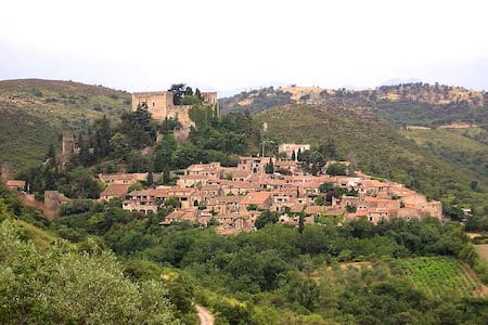 Charming lodge in medieval village - Castelnou