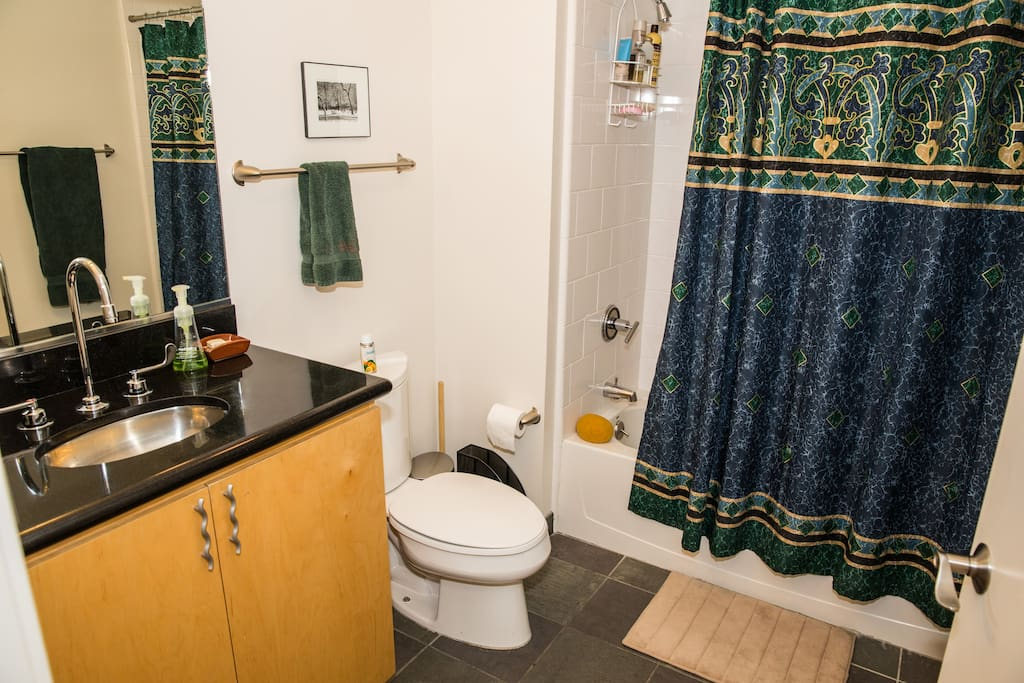 Private bathroom next to your bedroom